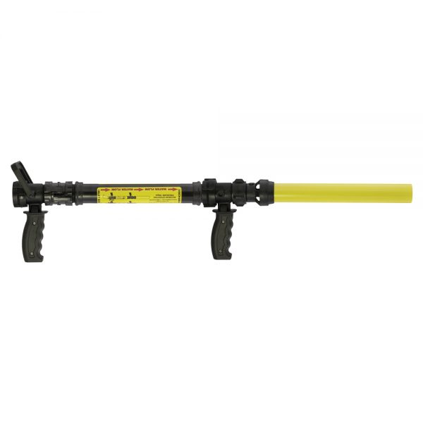 "4010_30 - Mixer, pistol grip ball shut off and 30 GPM nozzle, uses 12"" cartridges - Scotty Fire"